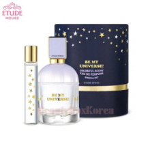 ETUDE HOUSE Colorful Scent Eau De Perfume Special Set White Floral Musk 50ml+ 7ml  [Be My Universe Collection]